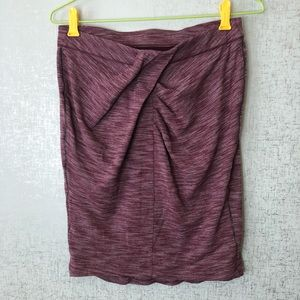 Lululemon &go Where To Skirt in Heathered Bordeaux